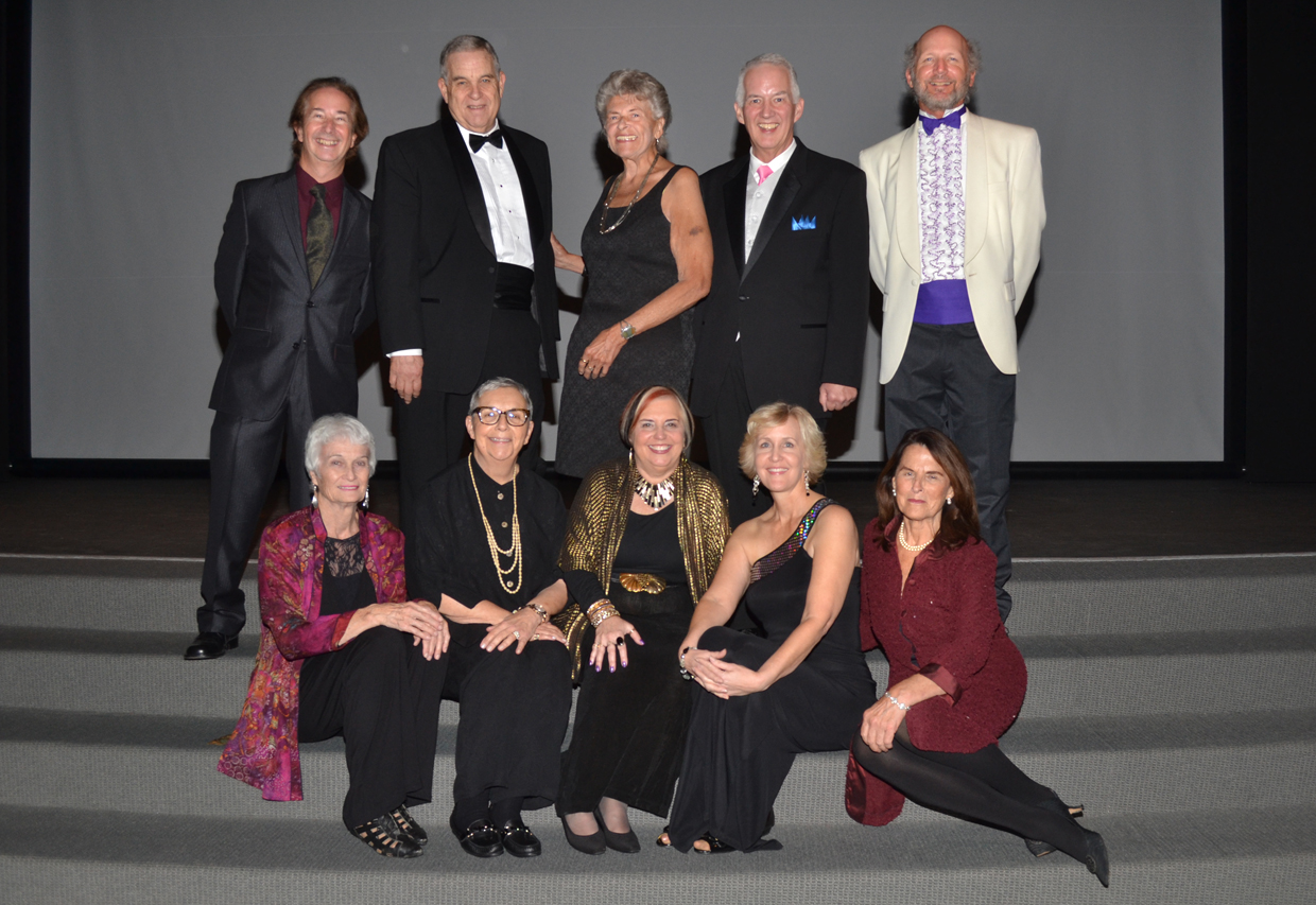 The San Diego Theatre Critics Circle members, clockwise from top left, David Coddon, Jeff Smith, Ruth Lepper, Bill Eadie, James Hebert, Anne Marie Welsh, Pam Kragen, Pat Launer, Carol Davis and Jean Lowerison.