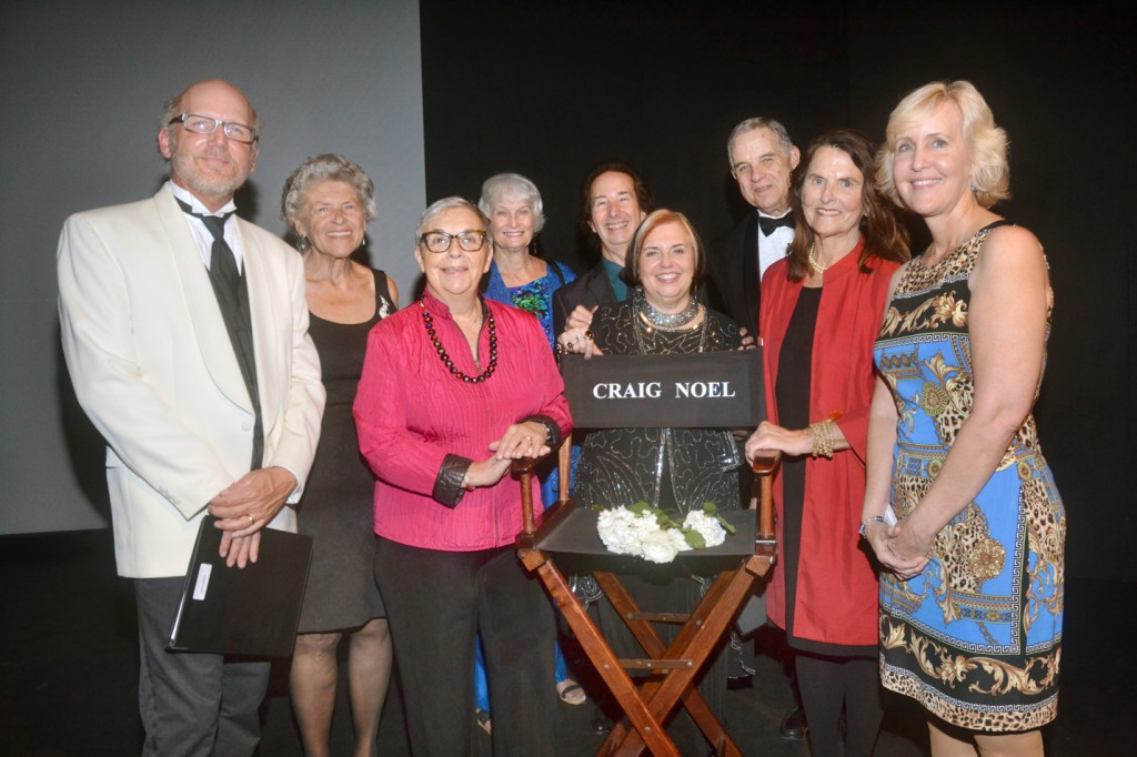 Members of the San Diego Theatre Critics Circle, from left, James Hebert, Ruth Lepper, Carol Davis, Jean Lowerison, David Coddon, Pat Launer, Jeff Smith, Anne Marie Welsh and Pam Kragen. Not pictured: Bill Eadie. Credit: Ion Moe